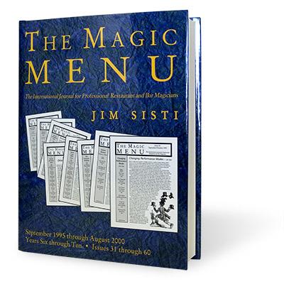 Magic Menu book Years 6-10
