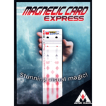 Magnetic Card Express (Red) by Astor Magic