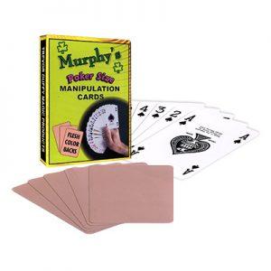 Manipulation Cards(POKER SIZE/ FLESH COLOR BACKS)by Trevor Duffy-Trick