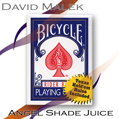 Marked Deck (Blue Bicycle Style, Angel Shade Juice) by David Malek