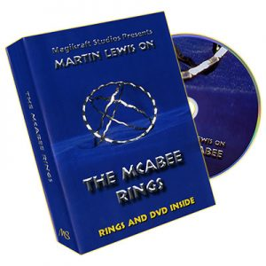 McAbee Rings (Gold Rings and DVD) by Martin Lewis