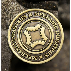 Full Dollar Coin (Bronze) by Mechanic Industries