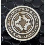 Full Dollar Coin (Gun Metal Grey) by Mechanic Industries