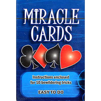 Miracle Cards (stripper deck) by Vincenzo Di Fatta s