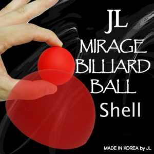 Mirage Billiard Balls by JL (RED, shell only)
