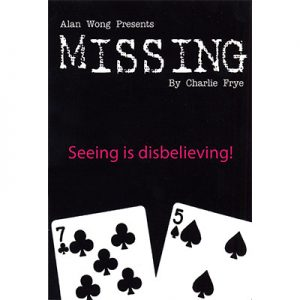 Missing by Charlie Frye and Alan Wong