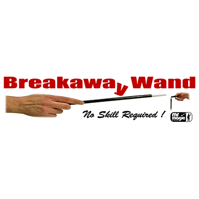 Break away Wand (with extra piece & replacement cord) by Mr. Magic