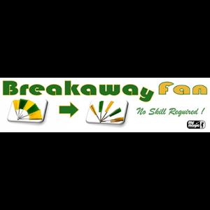 Break away Fan by Mr. Magic (stainless Steel)