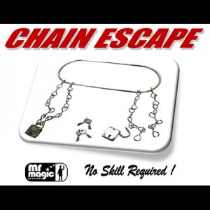 Chain Escape (with Stock & 2 Locks) by Mr. Magic