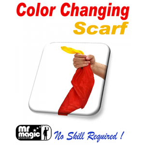 Color Changing Silk Scarf by Mr. Magic