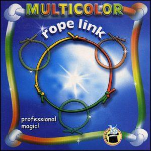 Multicolored Rope Link by Vincenzo Di Fatta s