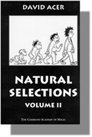 Natural Selections #2 book David Acer