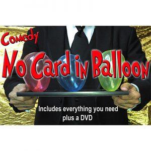 NO Card in Balloon by Quique Marduk