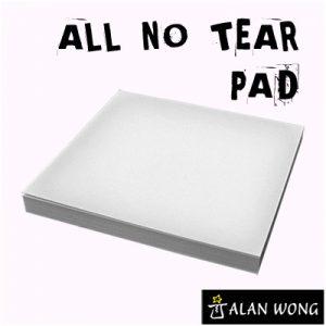 No Tear Pad (Small, 3.5 X 3.5, All No Tear) by Alan Wong