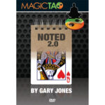 Noted 2.0 Blue by Gary Jones and Magic Tao - DVD