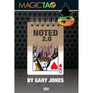 Noted 2.0 Red by Gary Jones and Magic Tao - DVD