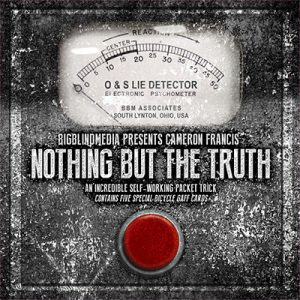 Nothing but the Truth by Cameron Francis and Big Blind Media - DVD