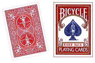 Red One Way Forcing Deck (4d)