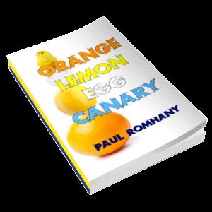 Orange, Lemon, Egg & Canary (Pro Series 9) by Paul Romhany - Book