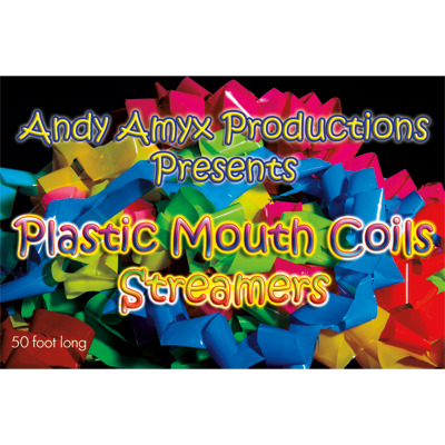 Plastic Mouth Coil (Rainbow) by Andy Amyx
