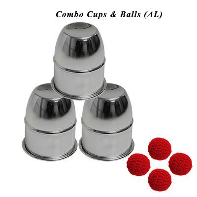 Combo Cups & Balls (AL) by Premium magic