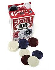 Poker Chip - regular Bicycle 100