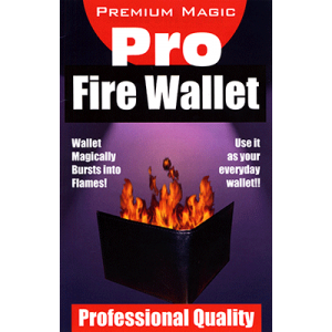 Fire Wallet by Premium Magic