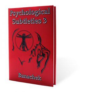 Psychological Subtleties 3 (PS3) by Banachek - Book