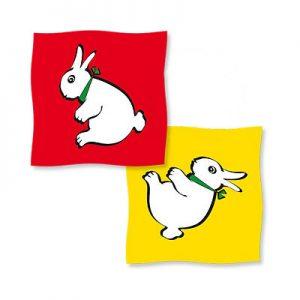 Rabbit-Duck Silk 36 inch (2 Silk Set) by Vincenzo Di Fatta s