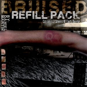 Refill for Bruised (8 complete sheets)by Daniel Martin