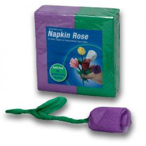 Napkin Rose - Refill (Purple) by Michael Mode