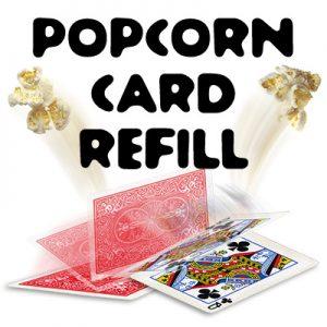 Popcorn Card Gimmick by Alex Kolle s