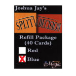 REFILL Blue for Split Decision by Joshua Jay
