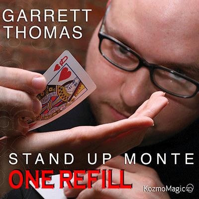 Refill for Stand Up Monte by Garrett Thomas & Kozmomagic s