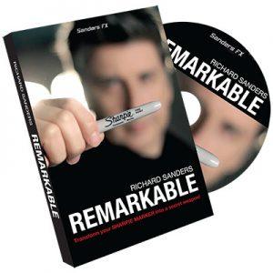 Remarkable by Richard Sanders -DVD