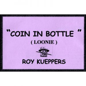 Coin In Bottle (Canadian Dollar/Loonie)
