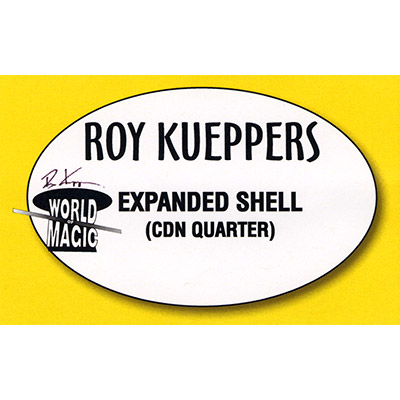Expanded Shell Canadian Quarter