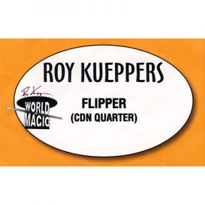 Flipper Coin - Canadian Quarter