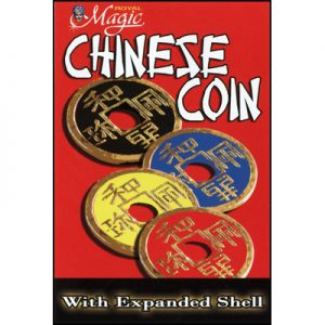 Expanded Chinese Shell w/Coin (YELLOW)