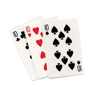 Three Card Monte (Regular) by Royal Magic