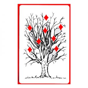 Tree of Diamonds Cards by Royal Magic(1 card= 1 unit)