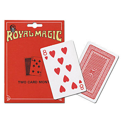 Two Card Monte by Royal Magic
