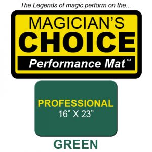 Professional Close-Up Mat (GREEN - 16x23) by Ronjo