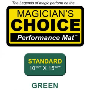 Standard Close-Up Mat (GREEN - 10.5x15.5) by Ronjo