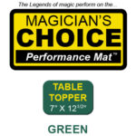 Table Topper Close-Up Mat (GREEN - 7x12.5) by Ronjo