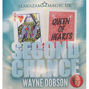 Second Chance by Wayne Dobson and Alakazam Magic - DVD