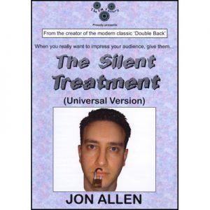 Silent Treatment (Universal Version) by Jon Allen