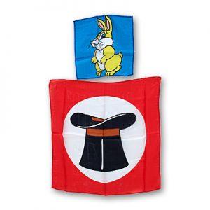 Silk 9 inch Rabbit from 18 inch Hat Silk
