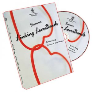 Souvenir Linking Loverbands (20 link, 10 single, DVD) by Alan Wong s