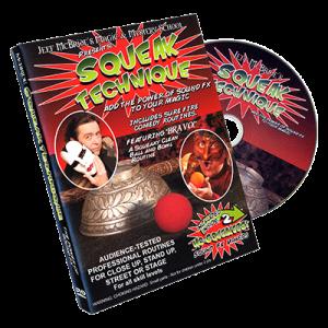 Squeak Technique (DVD and Squeakers) by Jeff McBride - DVD